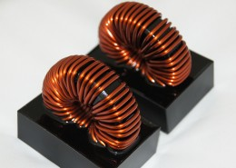 Inductors mounted on board